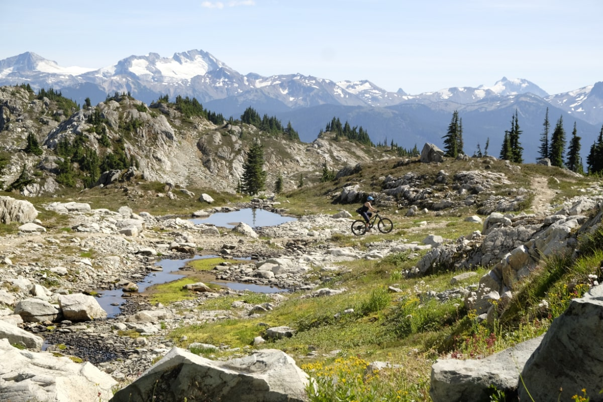 British Columbia mountain scenery